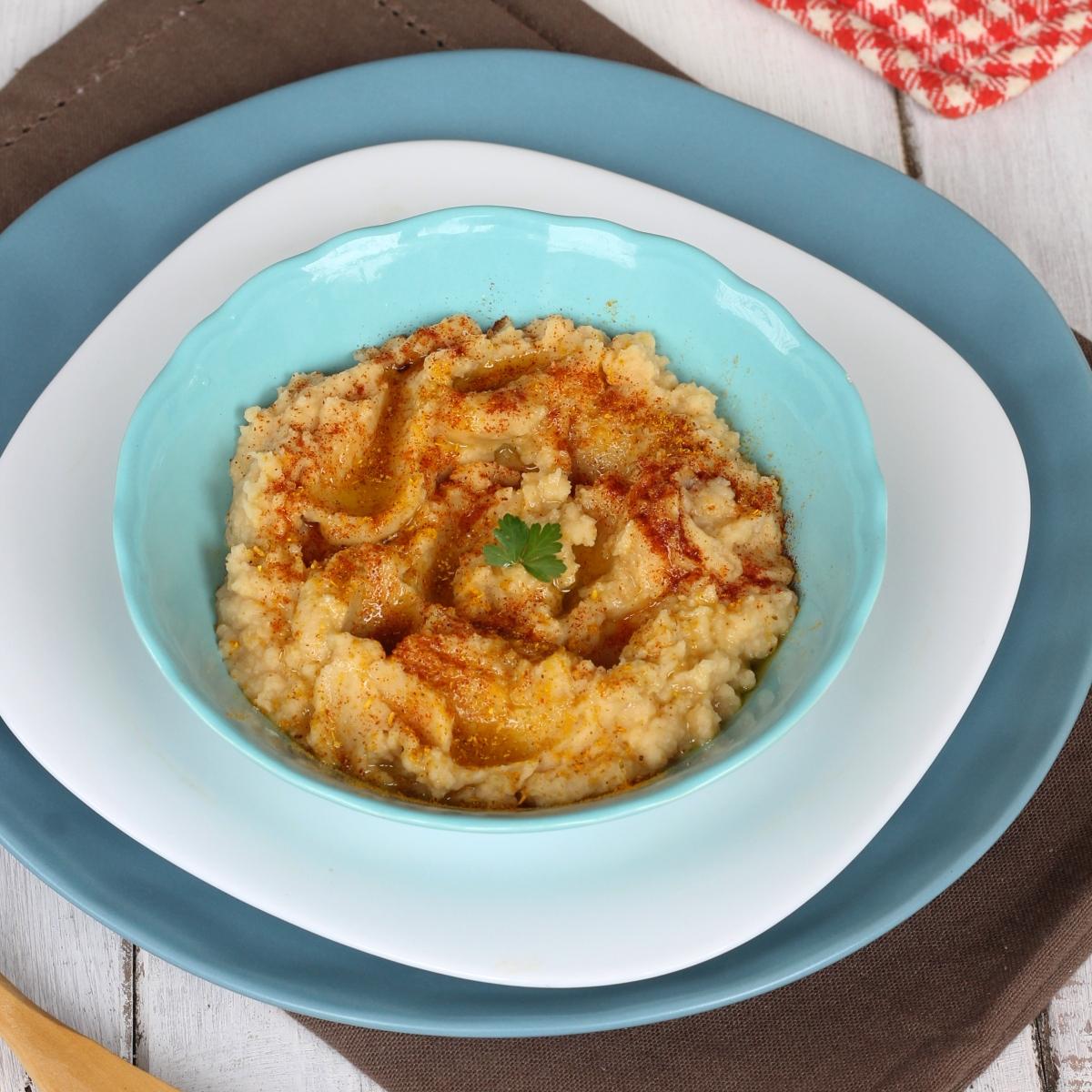 HUMMUS DI CECI ricetta originale | ricetta tradizionale hummus libanese