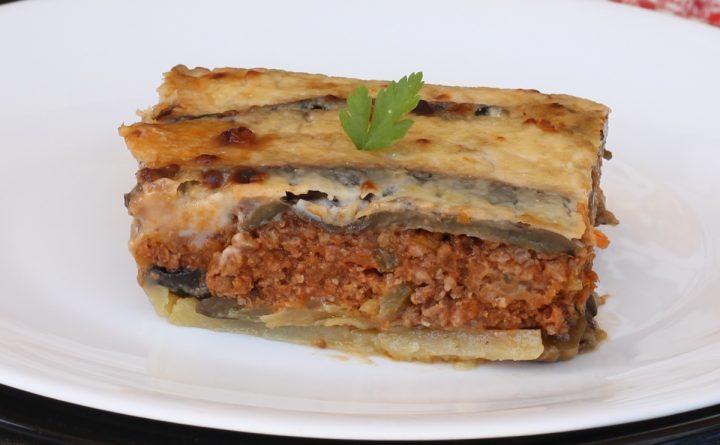 MOUSSAKA ricetta originale greca | come preparare la moussaka greca