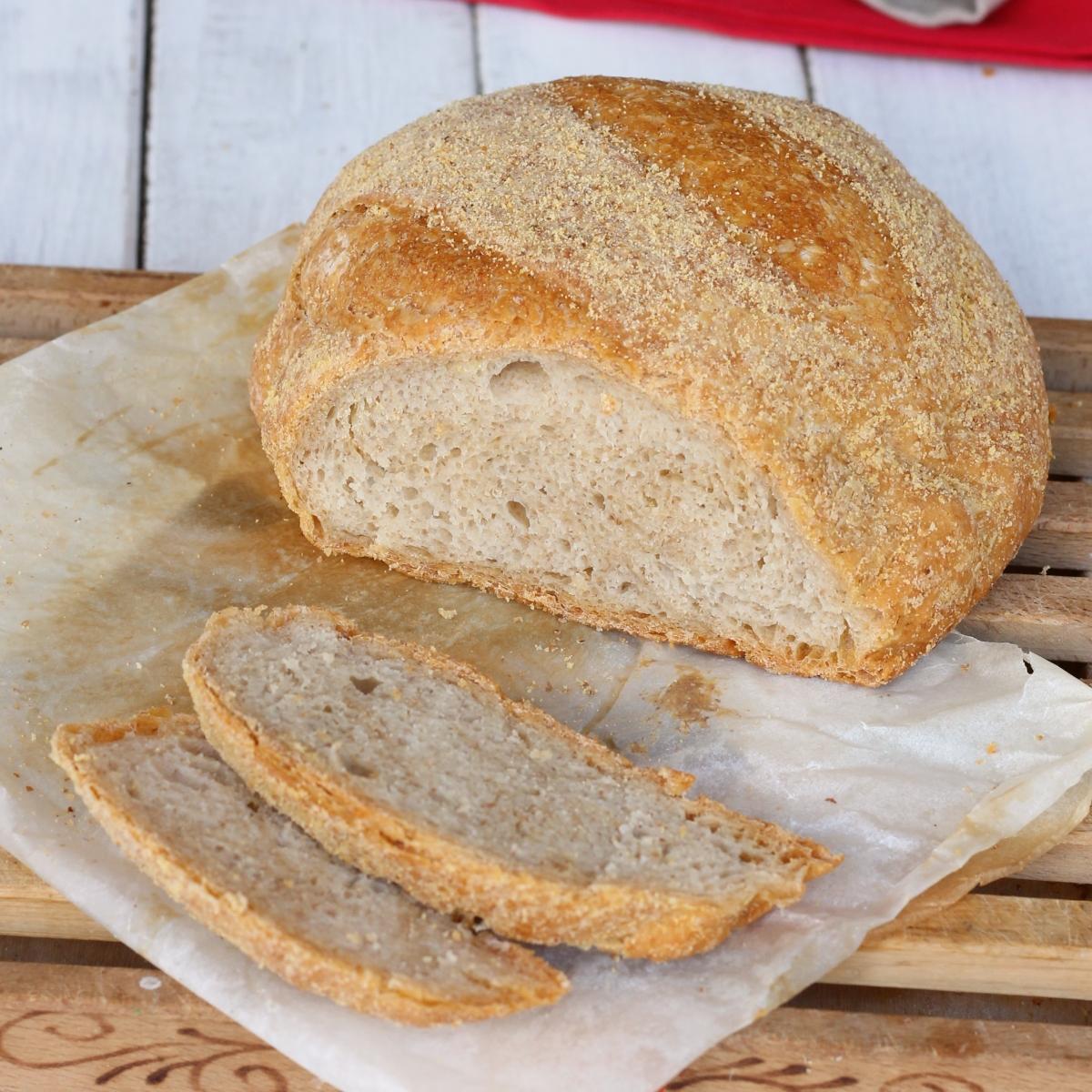 Pane con pasta madre | pane con lievito madre | ricetta pane fatto in casa