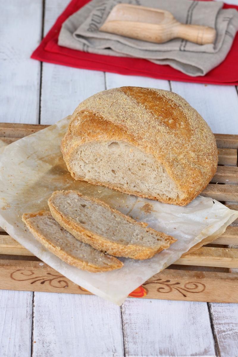 pane con lievito madre | ricetta pane fatto in casa