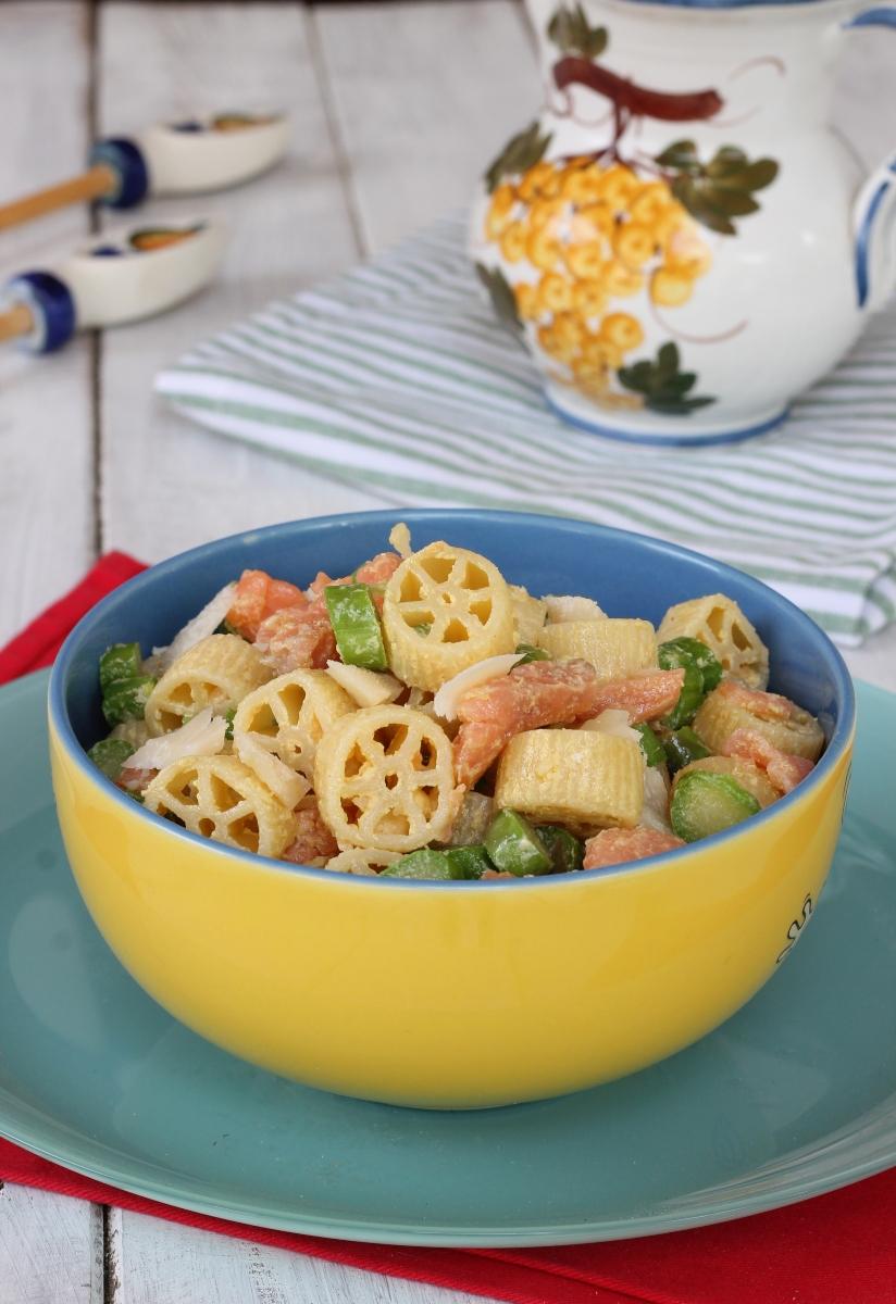 PASTA CON ASPARAGI ricetta insalata di pasta con asparagi