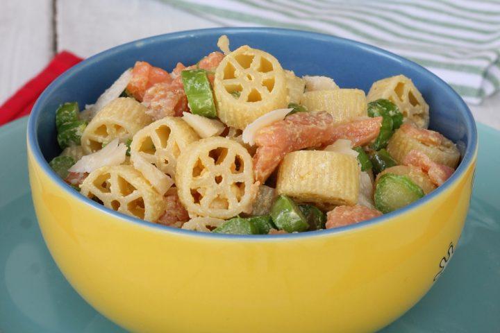 PASTA FREDDA CON ASPARAGI ricetta insalata di pasta con asparagi