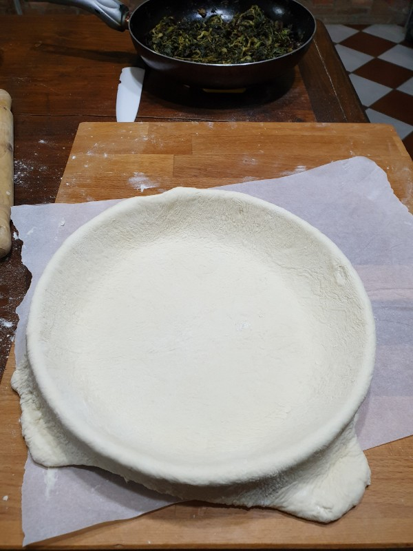 SCAROLa NAPOLETANA ricetta torta di scarole tradizionale