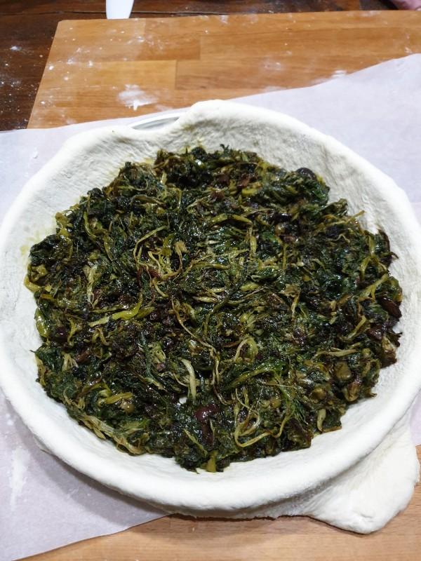 ricetta rustico NAPOLETANo ricetta torta di scarole tradizionale