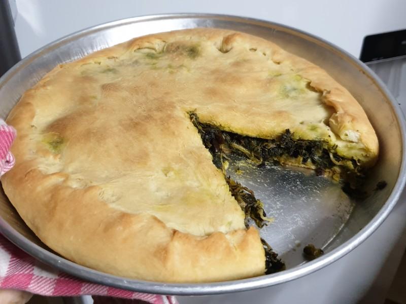 ricetta tradizionale NAPOLETANA ricetta torta di scarole tradizionale