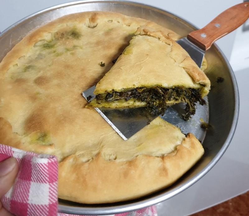 ricetta originale NAPOLETANA ricetta torta di scarole tradizionale