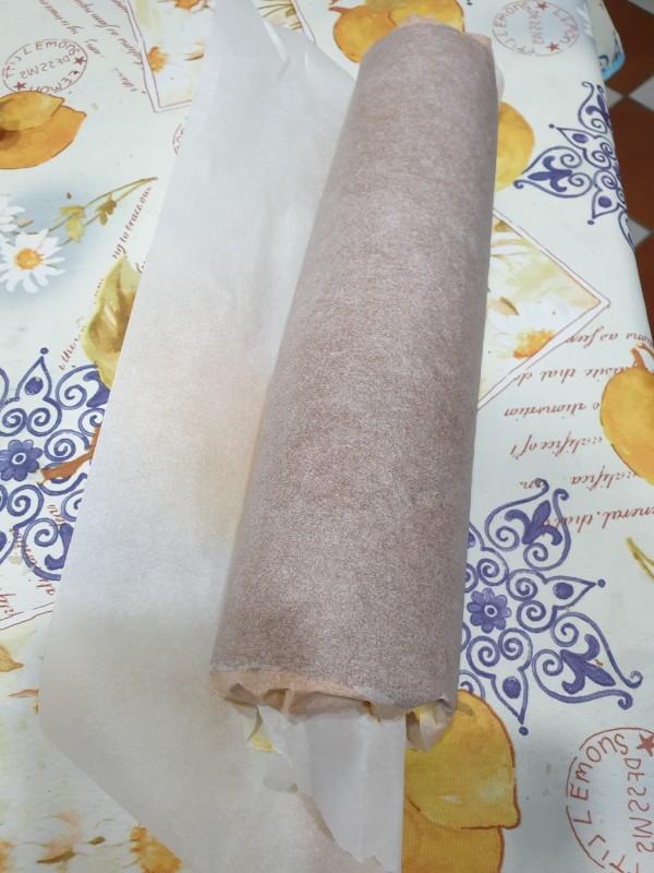 BARCHETTE MORBIDE PANNA E NUTELLA dolce bicolore con nutella