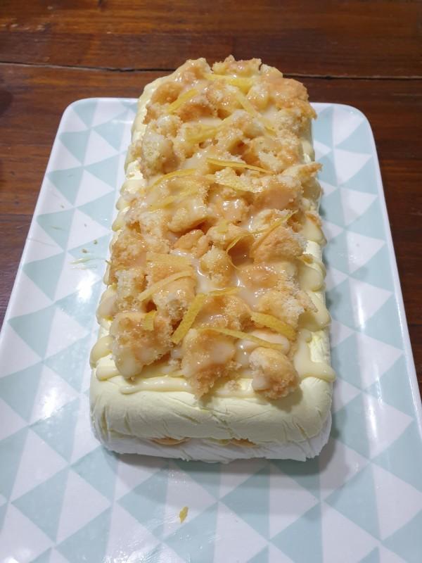 gelato AL LIMONE con latte condensato e panna ricetta dolce freddo estivo veloce senza cottura