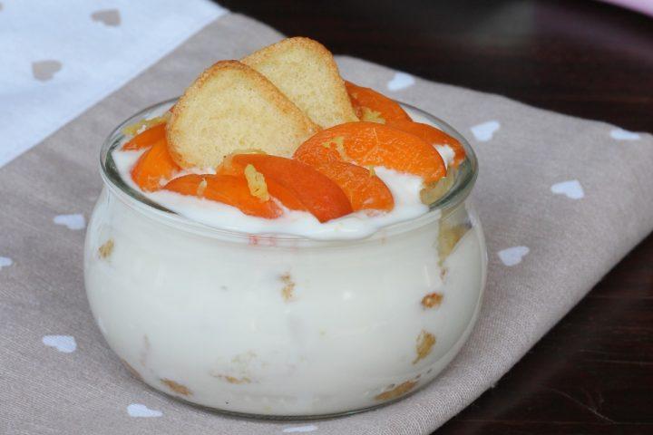 DOLCE DIETETICO con albicocche fresche | dolce light veloce allo yogurt