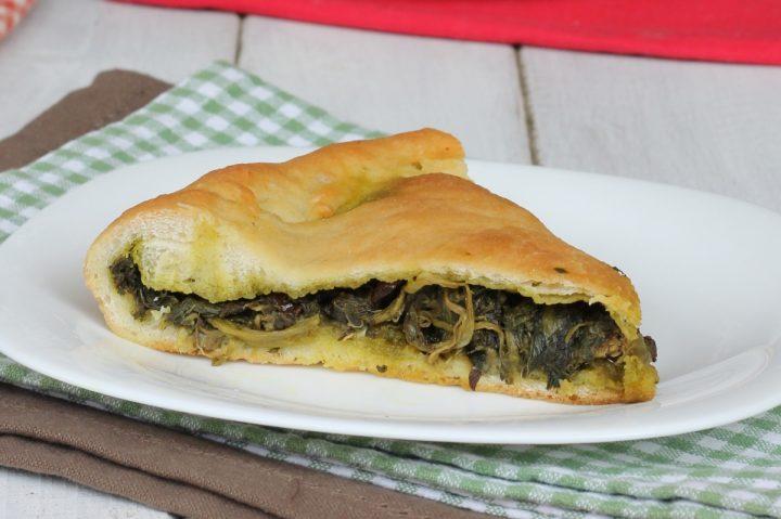 PIZZA CON SCAROLA NAPOLETANA ricetta torta di scarole tradizionale