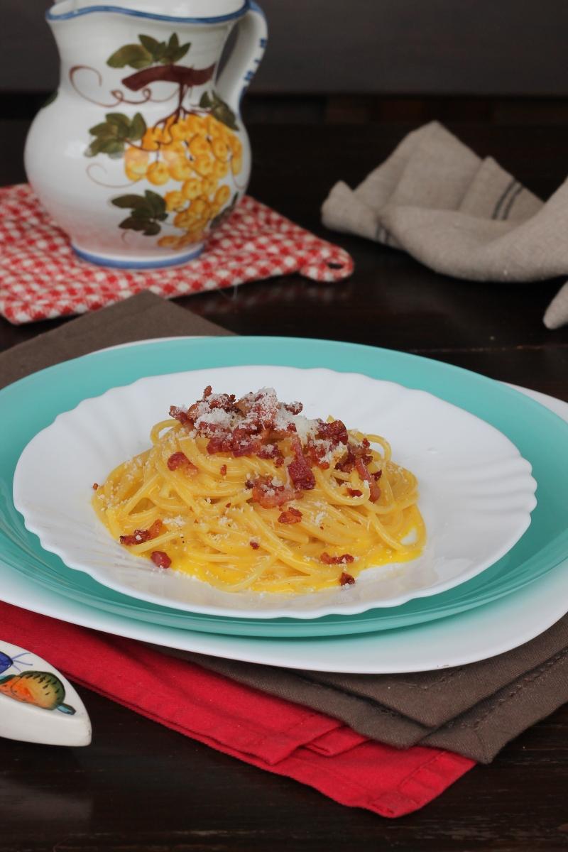 PASTA ALLA CARBONARA ricetta spaghetti alla carbonara