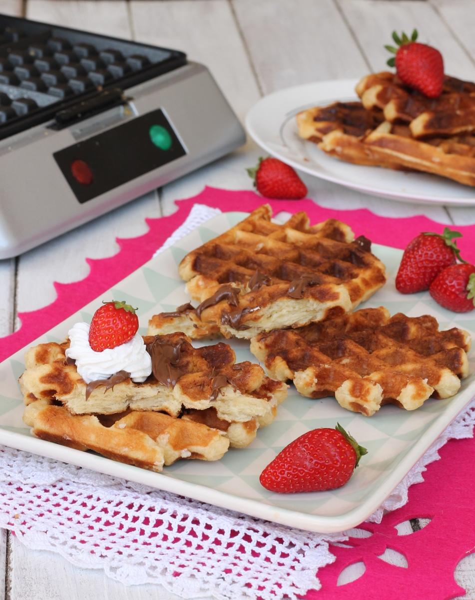 WAFFels ricetta originale olandese | les gaufres de Liège | waffles morbidi