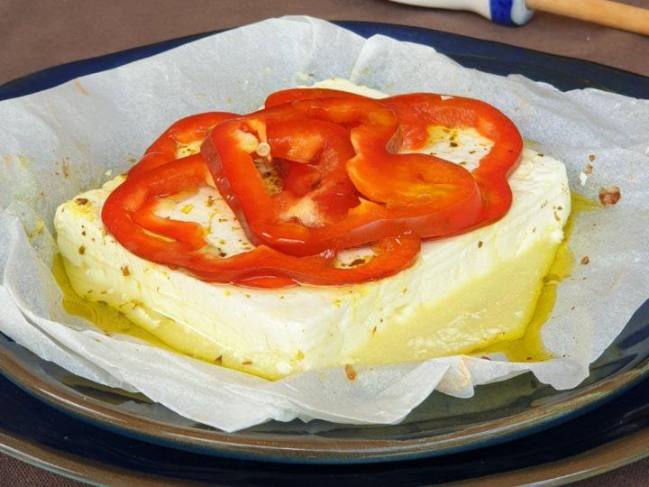 FETA con verdure AL FORNO ricetta feta greca al forno | formaggio