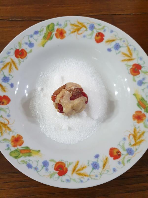 BISCOTTI con pasta frolla sbriciolata ricetta biscotti morbidi con ciliegie fresche