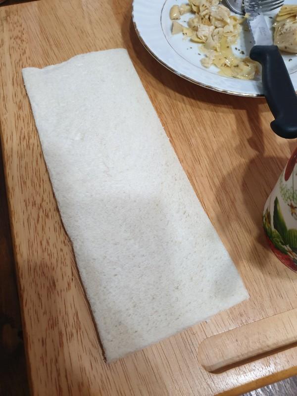 ROTOLO salato estivo  rotolo freddo salato   rotolo di pancarrè freddo