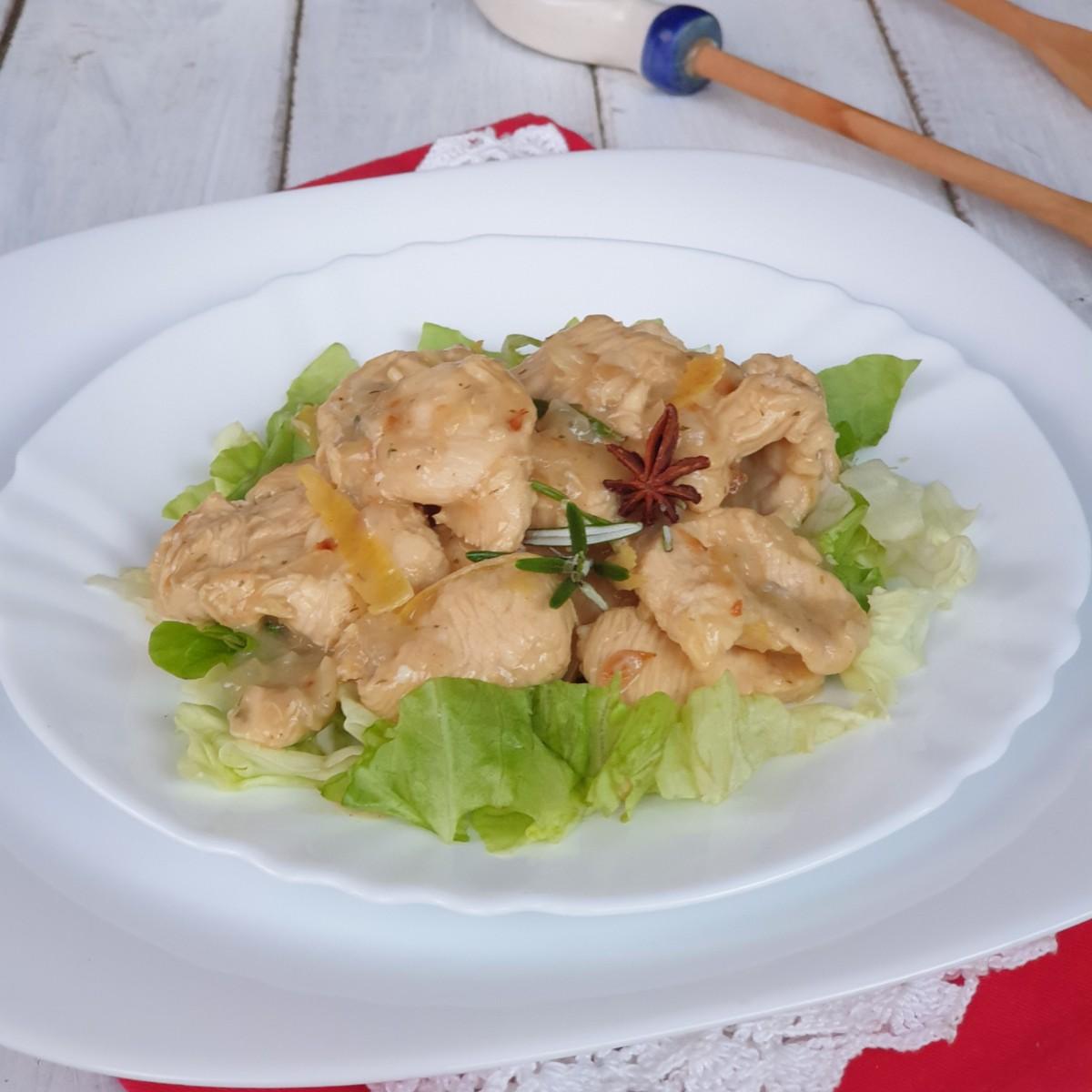 PETTI DI POLLO AGRODOLCI ricetta straccetti di pollo al limone in padella
