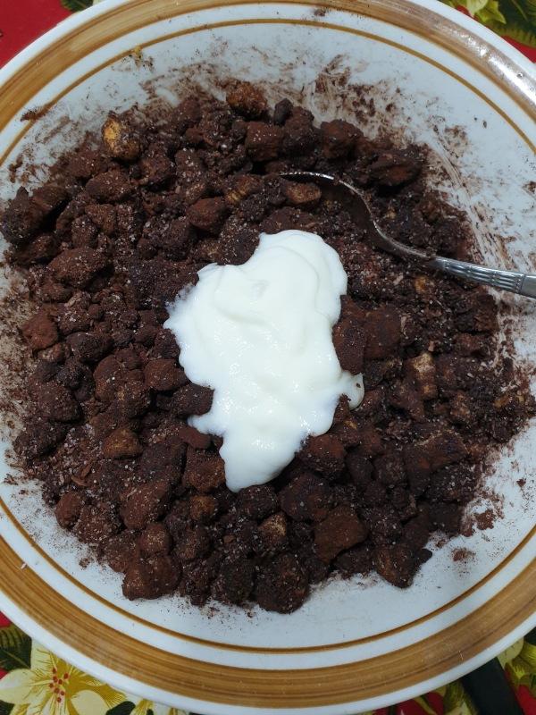 TORTA FREDDA yogurt COCCO CIOCCOLATO torta senza cottura al cocco