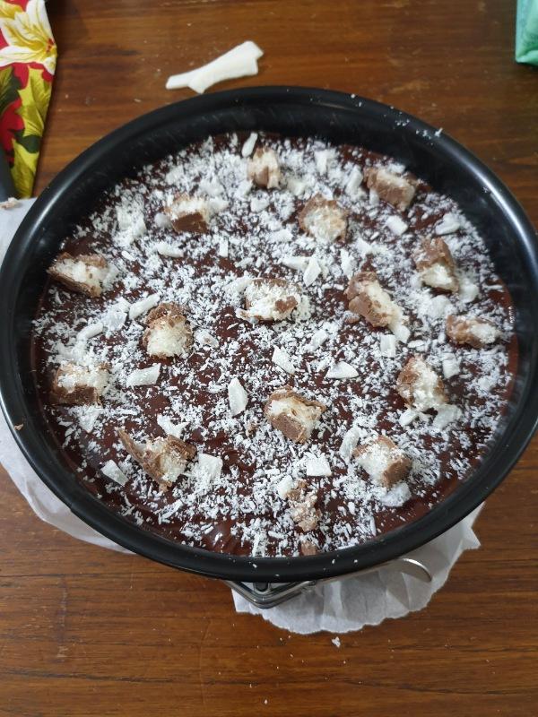 TORTA tipo salame al CIOCCOLATO torta senza cottura al cocco