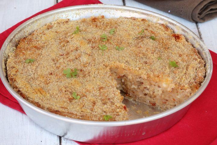 TORTA DI PANE e tonno | ricetta torta di pane salata con tonno