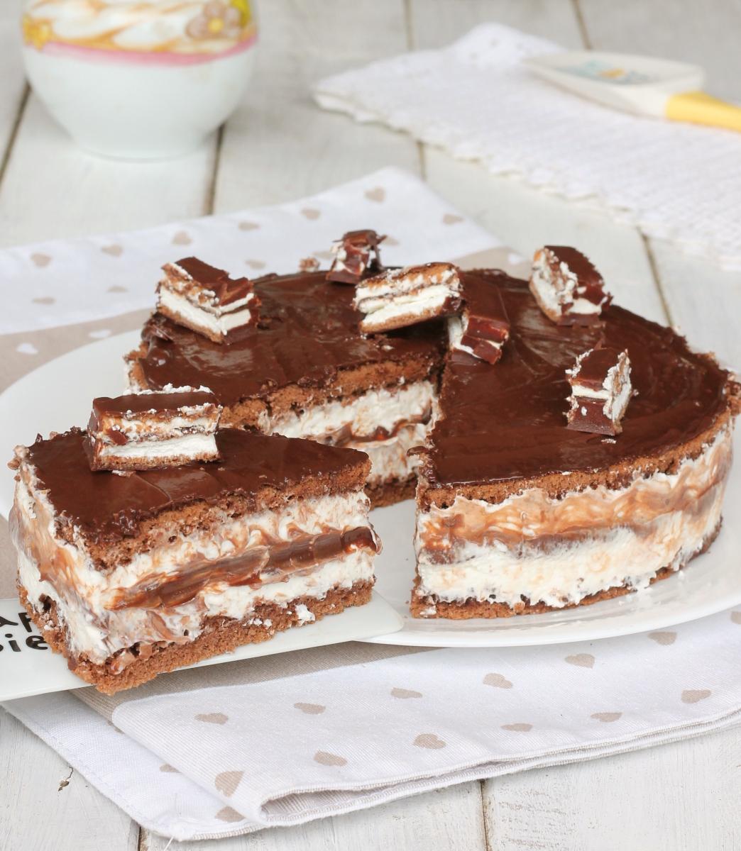 TORTA PINGUI'   ricetta torta pinguino   torta kinder Pinguì fredda