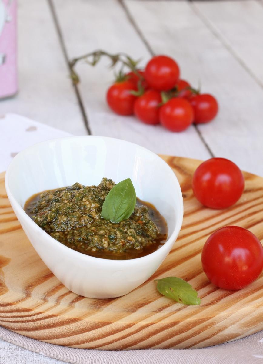 PESTO trapanese ricetta pesto alla siciliana | pesto siciliano