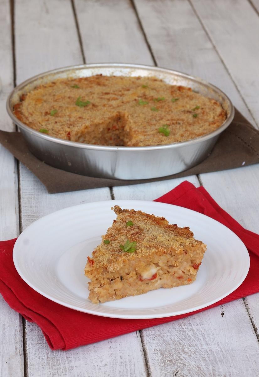 ricetta con PANE RAFFERMO | ricetta torta di pane salata con tonno