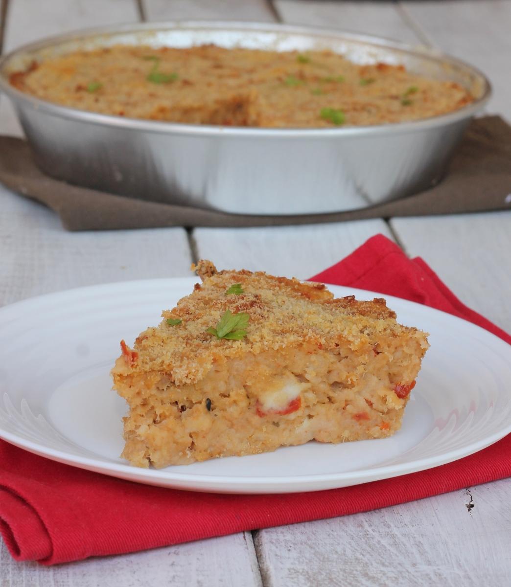 come riutilizzare il PANE RAFFERMO | ricetta torta di pane salata con tonno