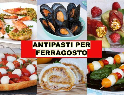 ANTIPASTI PER FERRAGOSTO