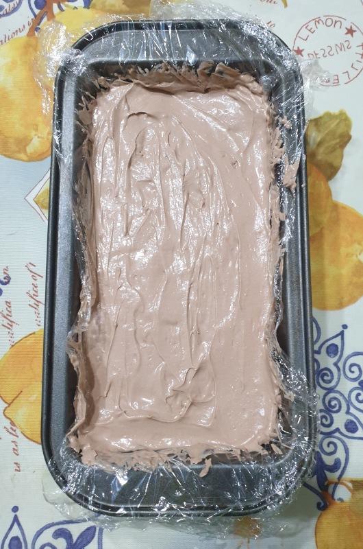 dolce freddo con NUTELLA ricetta veloce torta gelato con Nutella