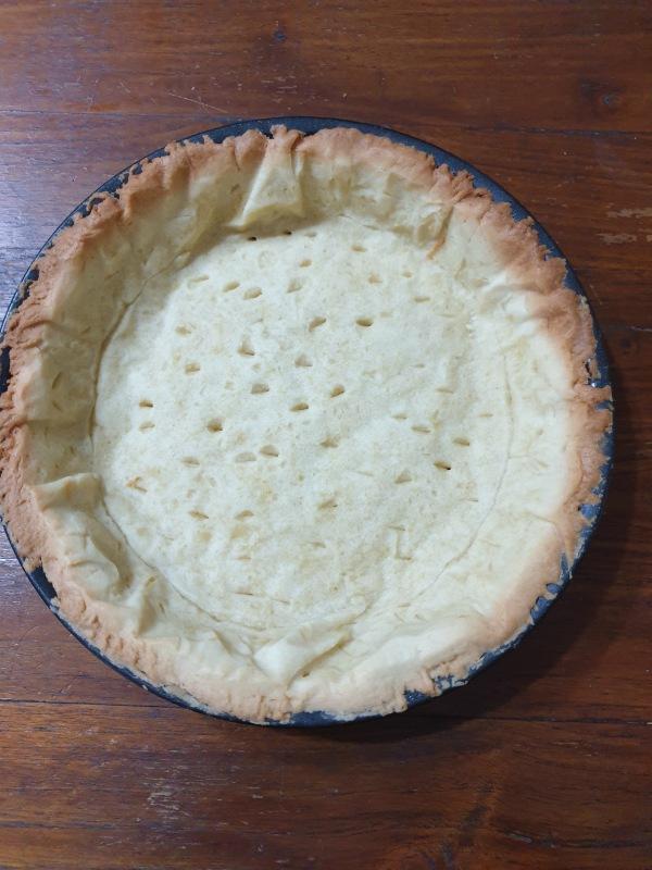 COTTURA pasta frolla alla cieca per crostate fredde e torte salate