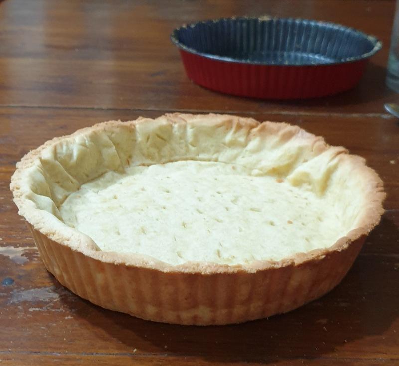 come fare la COTTURA  alla cieca per crostate fredde e torte salate