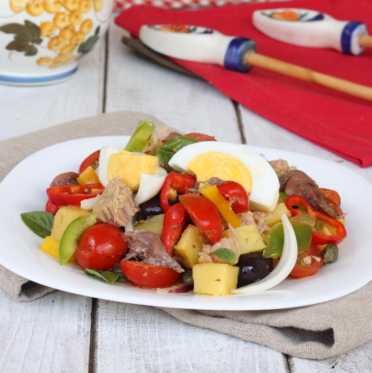CONDIGLIONE LIGURE TRADIZIONALE  insalata tipica genovese   cundigiun