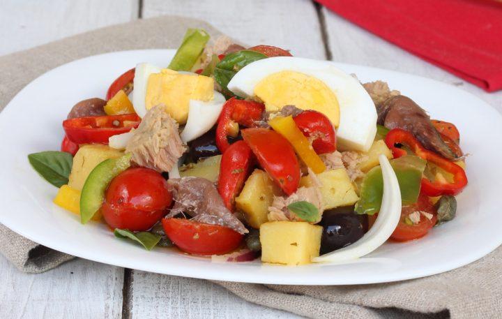 CONDIGLIONE ricetta LIGURE   insalata tipica genovese   cundigiun