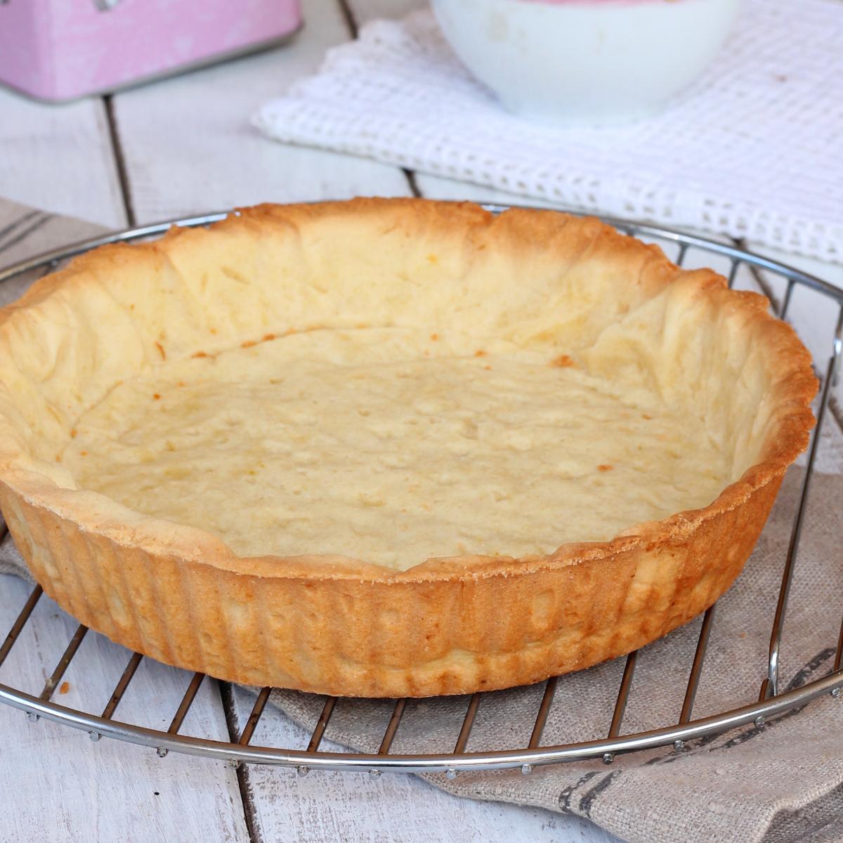 COTTURA alla cieca (o in bianco) per crostate fredde e torte salate