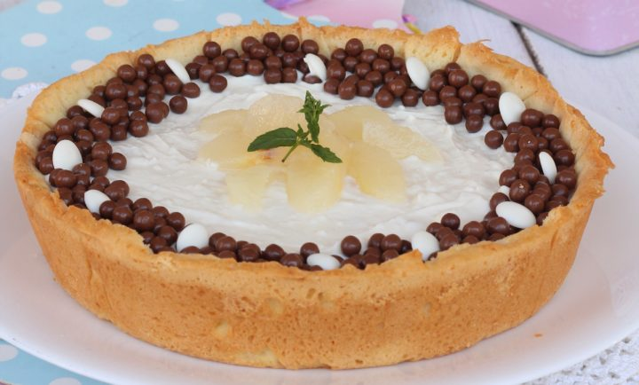 CROSTATA RICOTTA E PERE ricetta crostata di ricotta con pere fresche