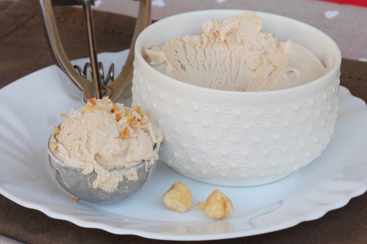 GELATO ALLA NOCCIOLA furbo | gelato alla nocciola senza gelatiera