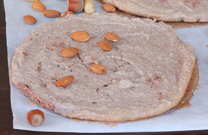 MERINGA DACQUOISE dacquoise alle mandorle, pistacchi o nocciole