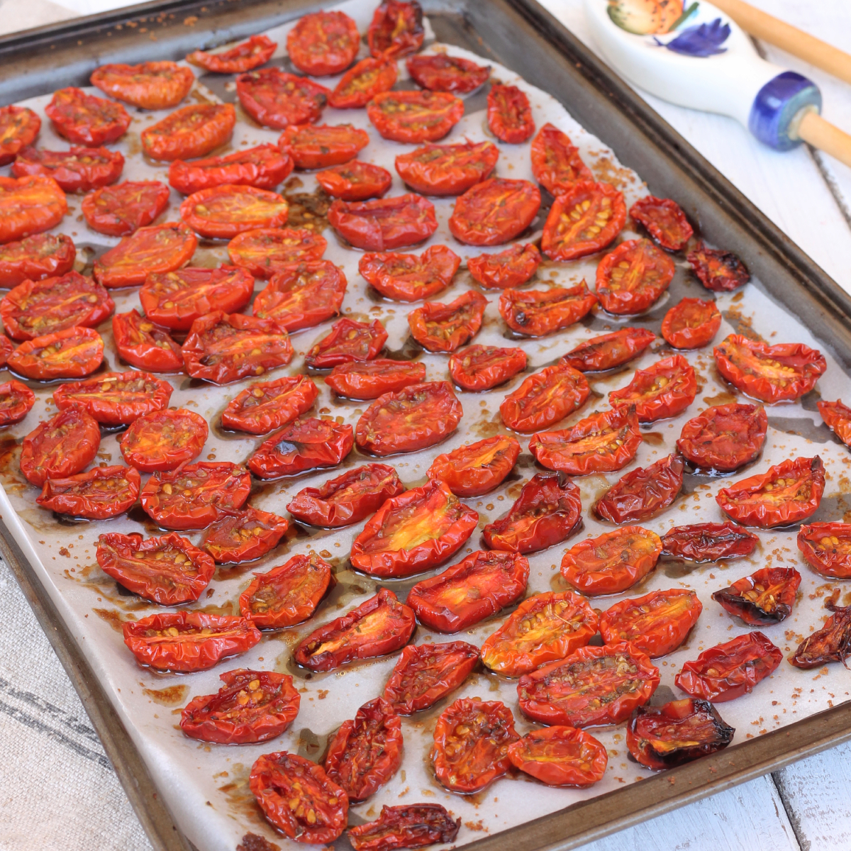 POMODORI CONFIT IN PADELLA pomodori confit ricetta | pomodorini caramellati