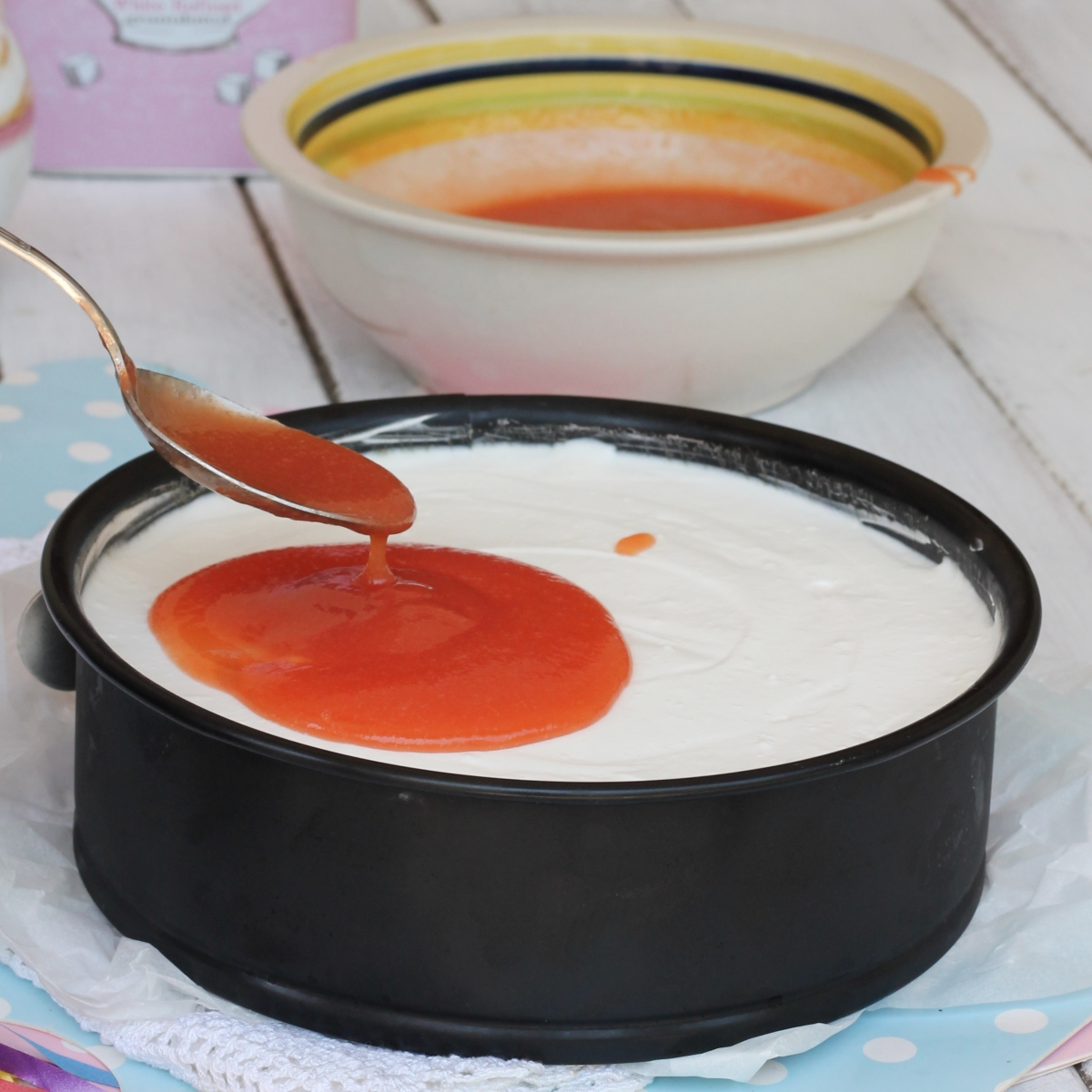 GELATINA ALLE PESCHE salsa alle pesche | salsa di pesche per cheesecake