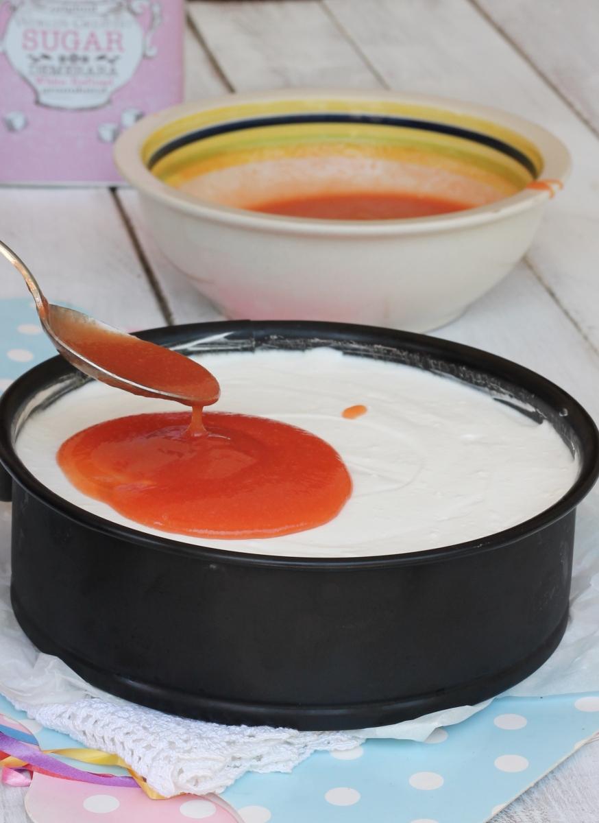 salsa alle pesche | salsa di pesche per cheesecake