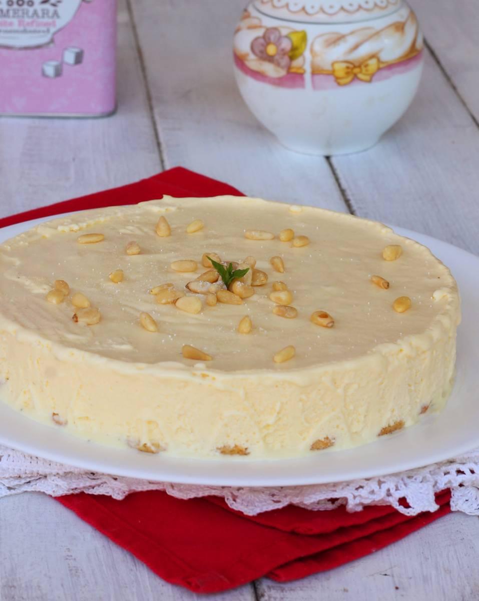 TORTA GELATO DELLA NONNA torta estiva | torta gelato alla crema
