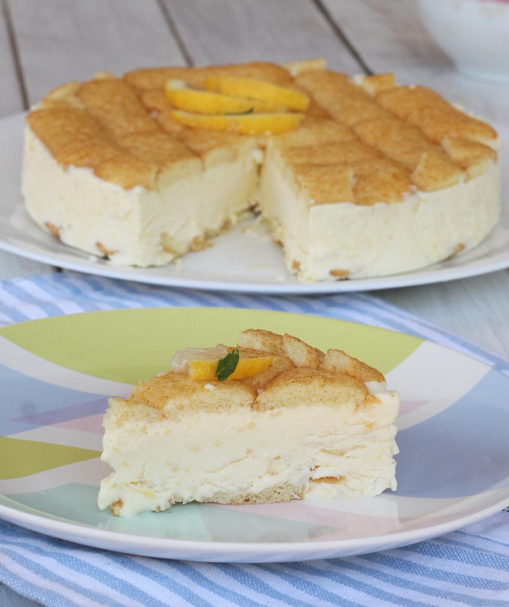 SEMIFREDDO AL LIMONE ricetta torta gelato al limone veloce