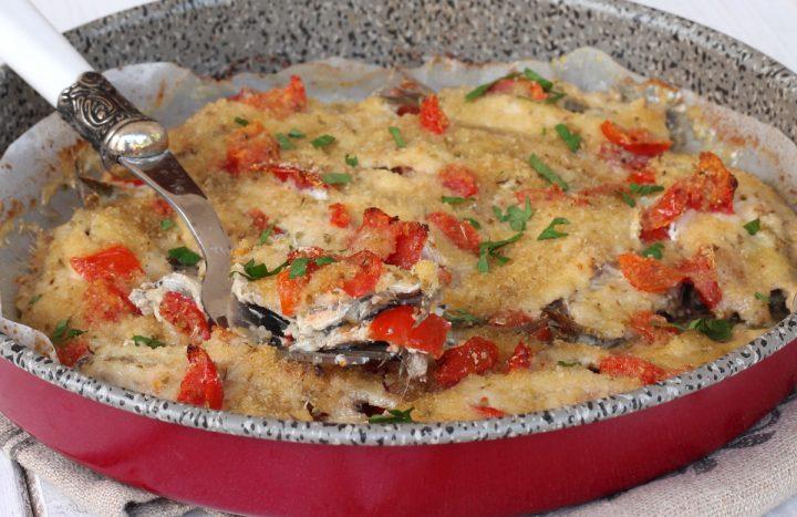 ACCIUGHE AL FORNO alici al forno gratinate | alici in tortiera al forno