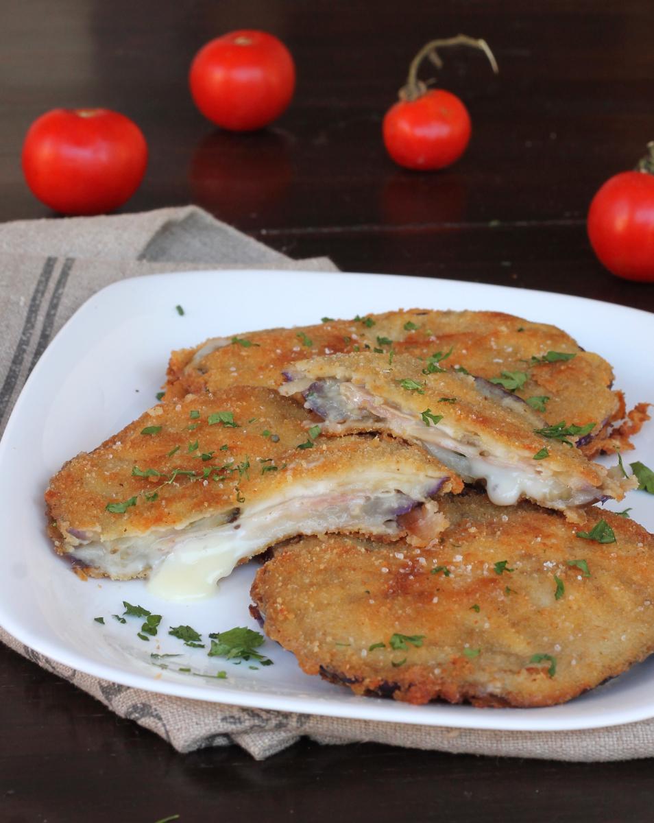 CORDON BLEU MELANZANE ricetta cordon bleu fritti o al forno