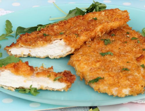 PETTO DI POLLO CON CORN FLAKES