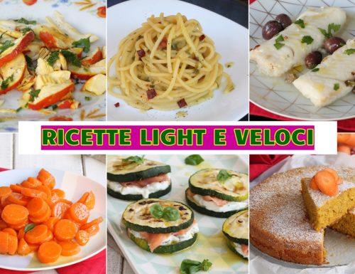 RICETTE LIGHT E VELOCI