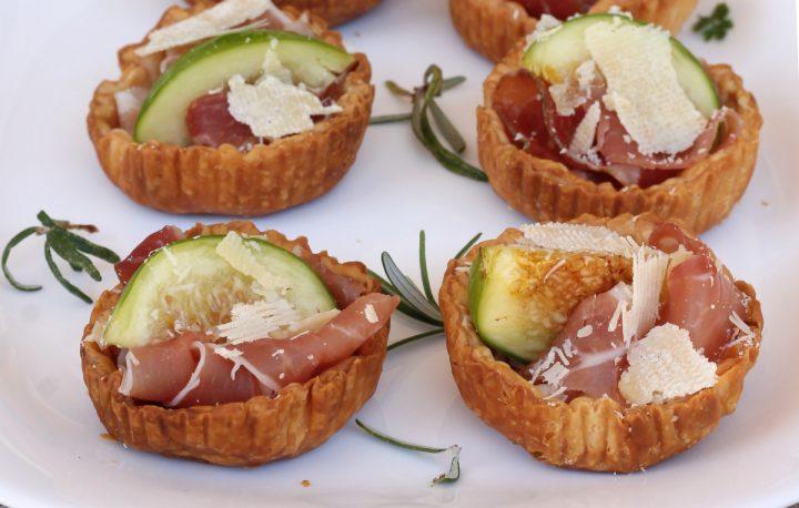 CESTINI SALATI di SFOGLIA ai FICHI   ricette salate con fichi freschi