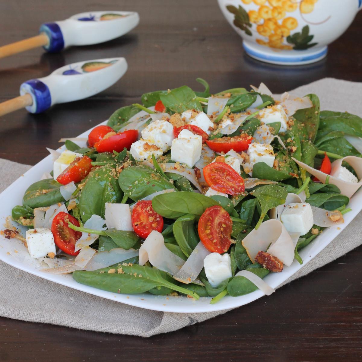 INSALATA TACCHINO insalata di tacchino veloce con spinaci