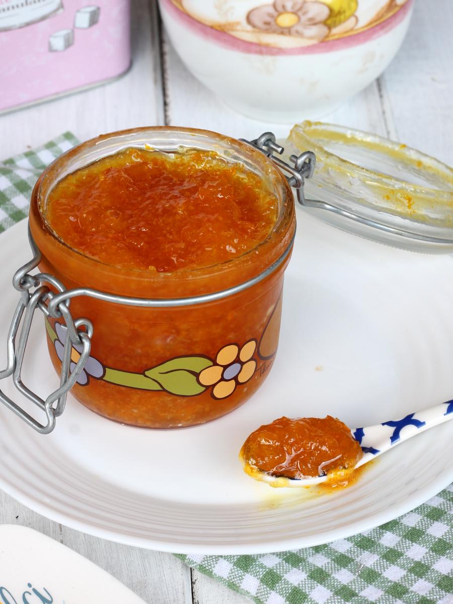 MARMELLATA DI ARANCE SENZA BUCCIA marmellata di arance veloce