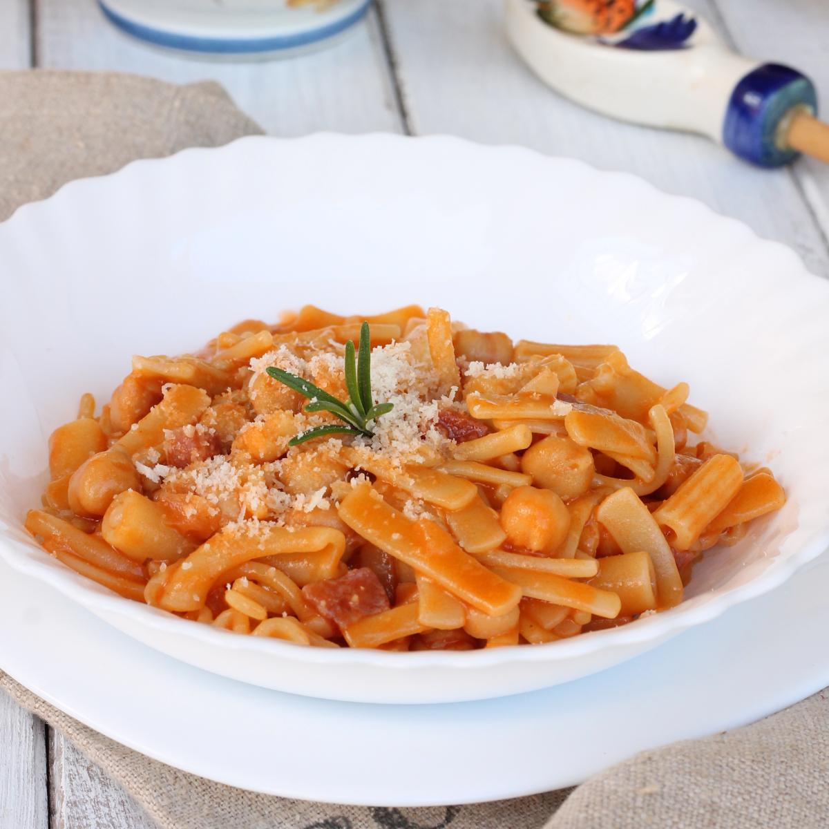 PASTA E CECI ricetta slow cooker pasta e ceci precotti | pasta e ceci veloce